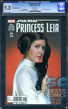 PRINCESS LEIA #1 MOVIE VARIANT - CGC 9.8 - SOLD OUT - FIRST PRINT - RARE