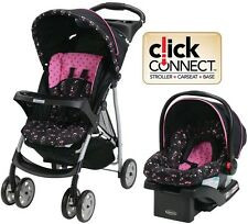 Graco Baby Stroller Car Seat 3in1 Travel System Infant Carriage Buggy Bassinet