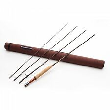 "REDINGTON CLASSIC TROUT 486-4 8' 6"" #4 WEIGHT 4 PIECE FLY ROD, TUBE+FREE LEADERS"
