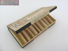 1920s ANTIQUE MEDICAL EMPTY CARDBOARD BOX FOR MORPHIN GLASS VIALS