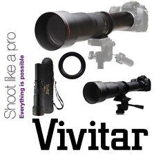 Vivitar Super 650-1300mm Telephoto Zoom Lens For Nikon D5500 D3400 D5600