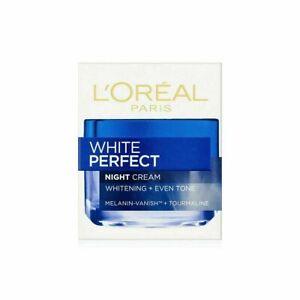 L'Oreal Loreal Paris White Perfect Night Cream, 50ml Skin Whitening Vitamin E