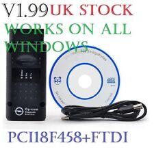 V1.99! OPEL OP COM Vauxhall OBD2 Diagnostic Code Reader Scanner Tool OPCOM 2018