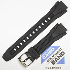 band for Aqf-102W, 10254192 Casio black rubber watch