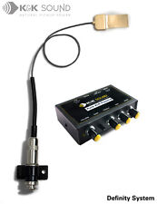 K&K Definity Pro archtop pickup system (with Pure XLR Preamp)
