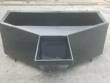 Skid Steer 1 Yard Pour Type Concrete Bucket Hopper Cement Bucket