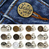 5Pcs Snap Fastener DIY Metal Pants Buttons For Jeans Adjust Button Sewing Craft