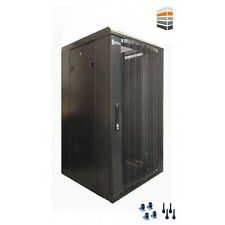 27U Server Rack 600 (W) x 800 (D) x 1400 (H) Mesh Door Data cabinet 19inch ack