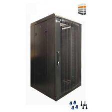 27U Server Rack 600 (W) x 800 (D) x 1400 (H) Mesh Door Data cabinet FLAT PACK