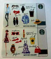 Starbucks Japan Card mint 2016 Special PIN intact Miyuki Ohashi Men and women