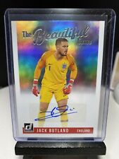 2018-19 Donruss Soccer JACK BUTLAND The Beautiful Game Autograph England AUTO