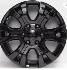 "4x Genuine Ford Ranger Wildtrak Wheels In Black 18"""