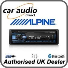 Alpine UTE-200BT - Mechless Bluetooth MP3 FLAC USB AUX Car Stereo RDS Tuner