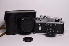 ZORKI 4K Soviet/Russian 35mm Rangefinder Camera, Industar-50 (3.5/50)