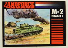 Lot of (1000+) 1991 Crown Landforce Series Two M2 Bradley Tank Card #2 ^ US Army