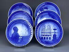 Jubilee porcelain plate Celebrating Royal Copenhagen 200th anniversary Christmas