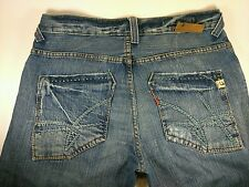UNION brand button fly jeans distressed made in USA size 32 x 32
