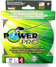 Power Pro Microfilament Braidline 30Lb. 300Yds Vermilion Red Item K 67