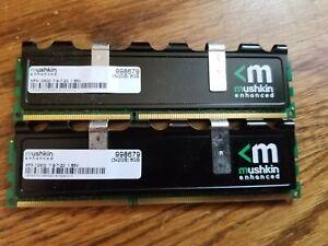 Two Modules - Mushkin Enhanced Xp3-12800 7-8-7-20 1.65V - With Heat Sink 998679