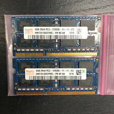 8GB Set (4GBx2) 204-Pin DDR3 PC3-12800 1600MHz SODIMM MacBook Pro Laptop RAM