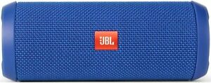 JBL Flip 3 Portable Bluetooth Speaker, Blue - Splashproof - GENUINE USA Seller