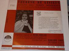LP ste THERESE de LISIEUX bernard CAILLARD carlié KANEL andrey NOLLIER jacquemin
