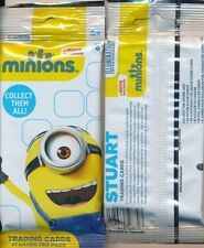 MINIONS THE MOVIE SINGLE JUMBO PACK or PACKS 21 CARDS PER PACK FROM 2015