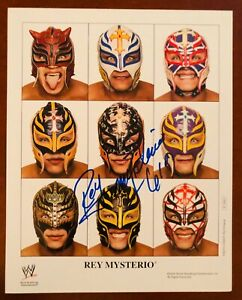 Rey Mysterio 619 8x10 color wrestling WWE promo photo P-1093 RARE WWE