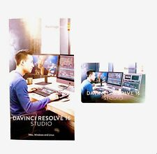 Blackmagic DaVinci Resolve Studio 16 Activation Key WIN/MAC/LINUX
