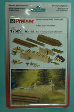 Preiser 17609 Baumstämme fourreau en bois holzstabel KIT DE MONTAGE HO 1:87 NEUF