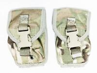 2 x British army surplus MTP camo grenade pouches GRADE 1