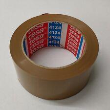 (€0,06/m) Tesa 4124 Packband Klebeband ultra strong braun oder transparent