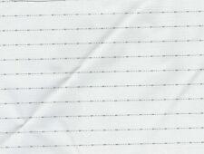 SILVER CROSS KENSINGTON BALMORAL fine stripe line HOOD APRON LINING MATERIAL