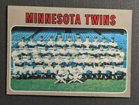 1970 Topps #534 Minnesota Twins Team Card EX