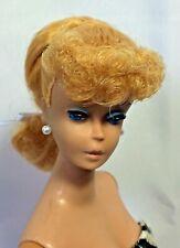 Stunning Vintage #5/6 Blonde Ponytail Barbie in Original Swimsuit & Heels