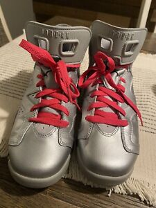 Jordan 6 Retro Valentine's Day 2014 (GS) Size 7y Pre-owned. Hardly Worn