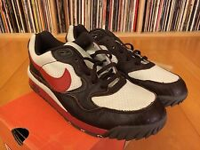 2003 Nike AIR WILDWOOD ACG PREMIUM (BAROQUE BRN/DRAGON RED) 306682-261 SZ 9 DS