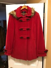 Red Winter Coat By Style & Co Size Large  New With Tags
