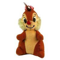 Vintage 1960's Disney Dale Chip & Dale Walt Disney Productions Plush Doll Toy