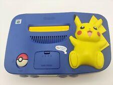 Nintendo N64 Konsole Pokemon Pikachu Edition NUS-101 (EUR) inkl. Jumper Pak