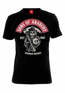 T-Shirt - Sons of Anarchy - EST 1967 REDWOOD ORIGINAL
