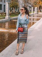 Neues AngebotZara Multicoloured Sequinned Midi Skirt Size S, M