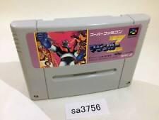 sa3756 Mazinger Z Tranzor Snes Super Famicom Japan
