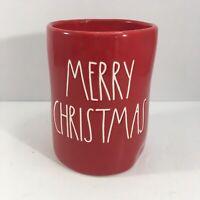 Rae Dunn Merry Christmas Candle 7.7 oz Christmas Tree Scent Red