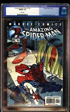 Amazing Spider-Man V2 35 CGC 9.8 J Scott Campbell Cover #476