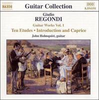 Regondi: Guitar Works, Vol. 1, New Music
