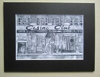 "Northern Soul; Wigan Casino; Mounted Print; ""Casino Club"""