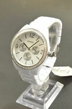Fossil BQ3343 Caleigh White Dial Acetate Ladies Multifunction Watch