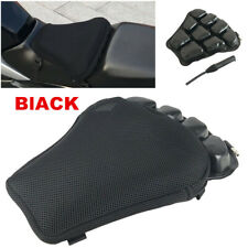 32x32cm Air Motorcycle Seat Cushion Pressure Relief Pad Black L Size Universal