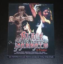 BLACK SABBATH IN FRESNO 1976-1978 3CD / DVD OZZY OSBOURNE